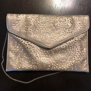 Handbags - Muted Gold Envelope Clutch